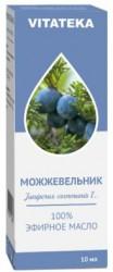 Масло можжевеловое, Витатека эфирное 10 мл
