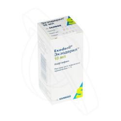 Экзодерил, р-р д/наружн. прим. 1% 10 мл №1 флаконы